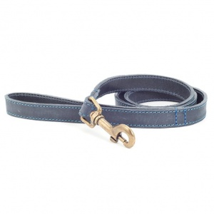 Ancol Timberwolf Leather Lead